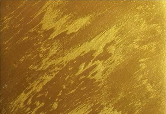 天津大漠飞沙(金色)-艺术涂料